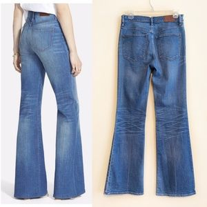 Madewell Flea Market Flare High Rise Jeans Size 28